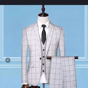 White suit brand new